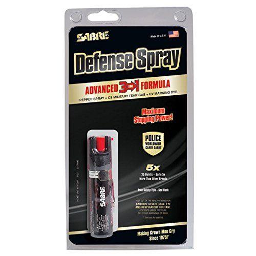 Sabre RED Pepper Spray Police Strength